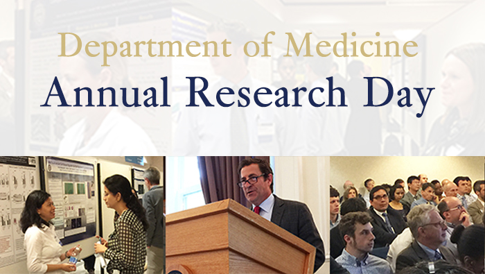 Department of Medicine Research Day