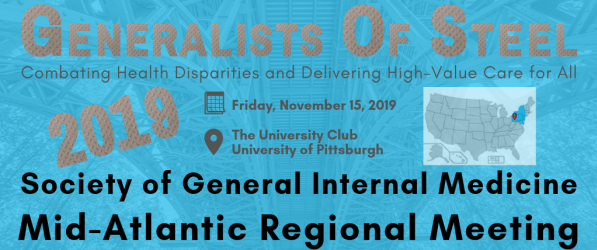 SGIM Mid-Atlantic Regional Meeting in Pittsburgh this November