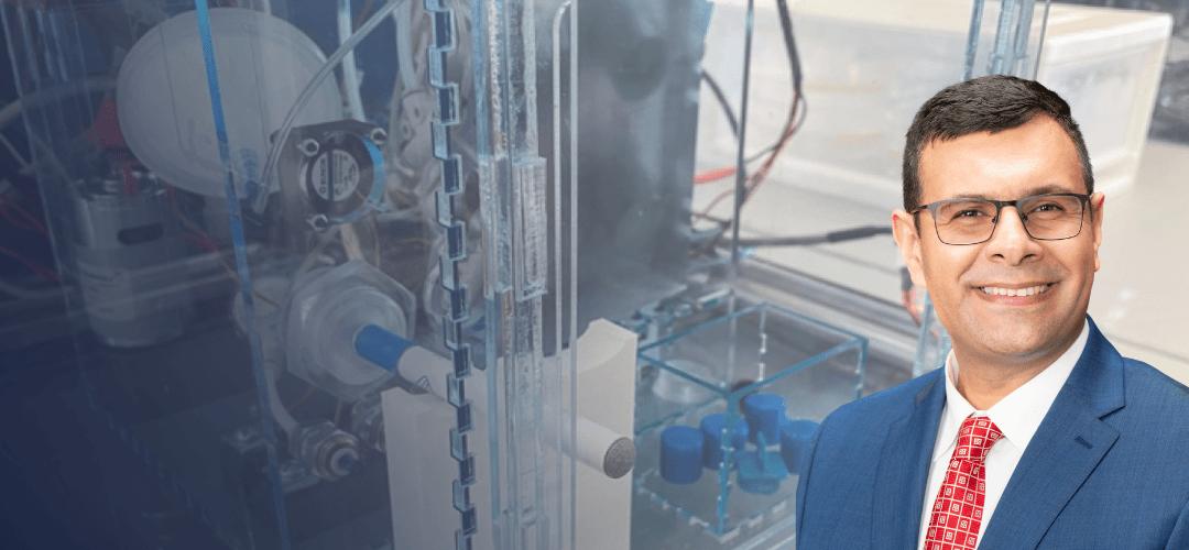 Kambez H. Benam develops new robot to simulate vaping effects